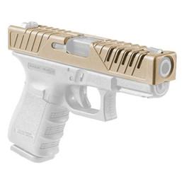 2020 pistolen zubehör Neue Ankunfts-Pistolen-Kasten-taktische Zusatz-taktische Haut-Dia-Abdeckung für G17 G19 geben Verschiffen frei CL33-0213 günstig pistolen zubehör