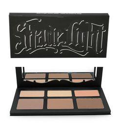 Wholesale Face Contour Palette - NEW Hot Makeup Shade & Light Contour Palette 6 colors Powder Face Highlighter palette Concealer DHL Shipping+gift