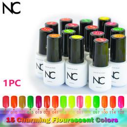 Wholesale Gel Unhas - Wholesale-Specialized UV Gelpolish 5 ml Soak-off Nail Color Gel Neon NC Unhas de Gel Polish Manicure Gel Varnish Cody Gels for of Nail