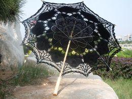 Wholesale Princess Wedding Decorations - 2017 Sun Umbrella Lace Royal Princess lacwe Technology Umbrella Wedding parasol Vintage parasols