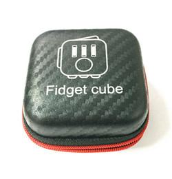 2017 New Hot Fidget cube Box, la primera ansiedad de descompresión estadounidense del mundo Just Box EMS envío por DHL desde fabricantes