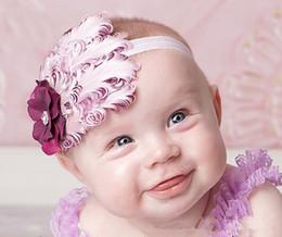 Wholesale Children Headband Design Ribbon - TOP BABY Girls Hair Ornaments Baby Flower Headbands Childrens Hair Accessories 34 Designs children gift B149