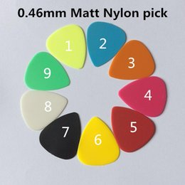Argentina Guitar Picks Proyección Nylon Acústica Electric Guitarra Plectres 0.46mm Suministro