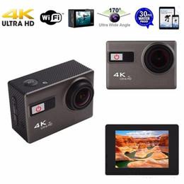 Wholesale Night Mode Camera - High quality New Brand F68 4K Ultra HD WiFi Sport Action Camera 170 Degree 12MP Diving Mode Night Scene Novatek 96660 2.0 inch Screen