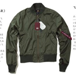 Wholesale Flight Jacket Xxl - Free shipping new Army fans must men leisure windproof waterproof flight jacket autumn ground models uniforms M-XXL
