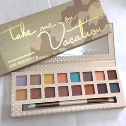 Wholesale High quality NEW Kylie Jenner Cosmetics Take Me On Vacation Eyeshadow Palette Collection Color Eye Shadow Palette DHL
