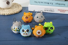 Wholesale Cartoon Wood Buttons - Mini Wireless Bluetooth Speaker Cartoon Portable Speaker Hand-free Call with Self-Timer 3.5mm Aux-in Supporting Laptop Smartphone MP3 PC