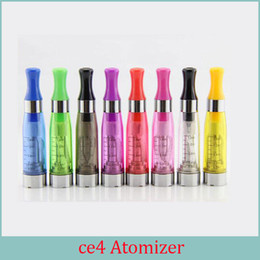 Wholesale Ego Ce4 Wholesale - CE4 1.6ml atomizer cartomizer Electronic Cigarette 510 ego-CE4 ego t,e cigarette for E cig all ego series CE5 CE6 Clearomizer