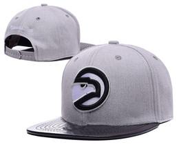 Wholesale Cheap Snap Back Hats - Free Shipping 2017 Atlanta Adjustable Snapback Hat Basketball Cheap Hat Adjustable Baseball Cap Thousands Snap Back Hats