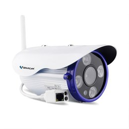 Wholesale Ip Outdoor Camera Sd Card - C7850WIP Onvif IP Camera IR distance 50M Outdoor 720P Waterproof Network 1.0MP HD CCTV Camera Support 64G SD Card