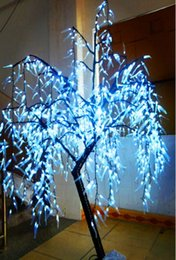 Wholesale willow lights - LED Willow Tree Light LED 945pcs LEDs 1.8 6FT WHITE Color Rainproof Indoor or Outdoor Use LLFA