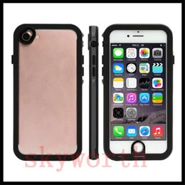 Wholesale Iphone Proof Case Slim - Universal Waterproof Ultra Slim Clear Case For Iphone 7 6S 6 Plus Shock proof Water Proof Full Cover