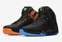 Wholesale Leather Strap Sale - Russell Westbrook Mvp Basketball shoes for sale 2017 Retro XXX1 With Box Wholesale prices free shipping US 7-12