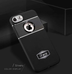 Wholesale Iface Case Bumper - iFace Series Soft Tpu Skin Bumper Case Cover for iphone x 8 8plus 7 7plus 6 6s plus 5 5s samsung s8 s8plus Magnetic Car Mount Skin Cover