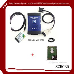 Wholesale Ecu Key Diagnostic - 2017.02 Vauxhall  Opel MDI (Tech 3) OEM Level Diagnostics GM MDI ( WORK %100)(TECH-3) + wifi card +2017,02 version HDD software + DHL free
