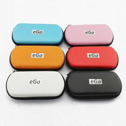 Wholesale ego leather - Electronic Cigarettes Case Bag Colorful EGO Zipper Case Vape Bags For EGo-T Ego--tank CE4 CE5 CE4+ CE5+ Mod Protank Ecig EGo Start Kit
