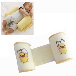 Wholesale Baby Head Shaping Pillow - New Baby Shaping Pillow to finalize baby design pillow Correct the flat head Prevent a cartwheel pillow Yellow chicken cartoon toddler cotto