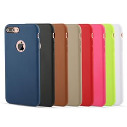 Wholesale Patterned Felt - New Cellphone Case Ultra-thin Leather Pattern Matte Feeling TPU Cases For iphone X iphone 8 8Plus iphone 7 7Plus 6 6S Plus Cover