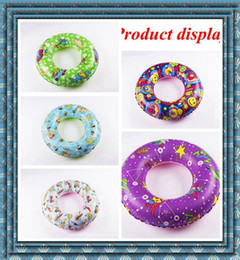 Wholesale Swimming Rings - In Stock Wholesale PVC Children's Adult Inflatable Fancy Swimming Rings Thickened DHL or SF EXPRESS free shipping