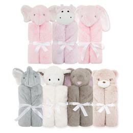 mesi di bambino accessori per bambini Sconti Assicurato bambini sacchi a pelo cristallo velluto neonati rivestiti panda coniglio coperta materna bambino in possesso di forniture per bambini