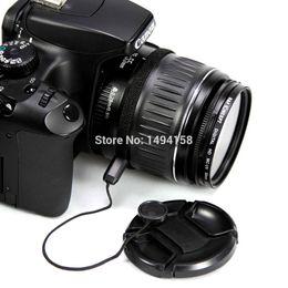 Wholesale 72 Models - Wholesale-Select Model Universal Camera Lens Cap Protection Cover 49 52 55 58 62 67 72 77 82mm + lens rope