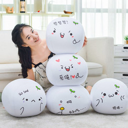 Wholesale Cushion Words - New pattern Super adorable Plush Written words Cushion Pendant Expression Fill Foam particles Soft and comfortable