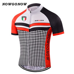 ba93fe612 Man 2017 cycling jersey italy red black dot bike clothing wear tops team  pro rider bicycle outdoor sport NOWGONOW can custom
