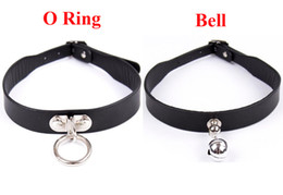 Wholesale Bell Sex Toys - Bell  Circle Collars Bdsm Sex Collar Ring Slave Erotic Toys Bdsm Bondage Sex Toys For Couples Woman Adult Sex Game