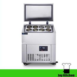 Wholesale Cream Maker Machine - Commercial 8 barrels ice cream machine freezer for snow ice batch freezer taiwanese snow ice maker machine