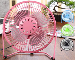 Wholesale Table Gear - The latest creative 4 inch and 6 inch USB mute mini desktop fan in the office computer desk the student dormitory