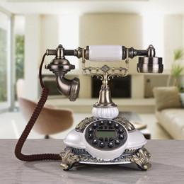 Wholesale Old Style Telephones - Antique antique telephone antique European style old home office telephone line telephone