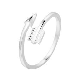 Wholesale Arrow Shapes - 5pcs lot New Arrivals 925 Sterling Silver Rings for Women Girls Gift Sterling-silver-jewelry Cupid Arrow Shape Adjustable Rings