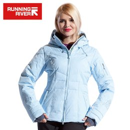 Wholesale Running Jacket Women Waterproof - Wholesale- RUNNING RIVER Brand Women Ski Jacket Hot Sale High Quality Ski Jackets New Arrival Women Ski Suit Warm Skiing Snow Coat #L4985