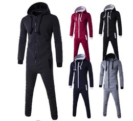 Wholesale Casual Sweat Suits For Men - New Arrival 2017 Tracksuit for Man Casual Spring Autumn Hoodies with Pant Men's Sports Clothing Sets Sweat Suits autumn new tracksuits