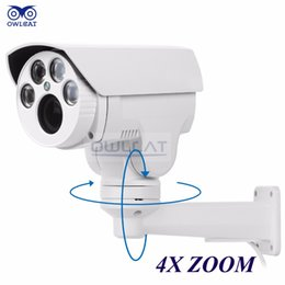 Wholesale Hd Ip Camera 12mm - 2016 Top Fashion Time-limited Owlcat Hi3516c for Sony Imx322 Hd 1080p Ip Camera 4x Zoom 2.8-12mm Varifocal 2mp Outdoor Ptz Ir Cut Onvif Rtsp