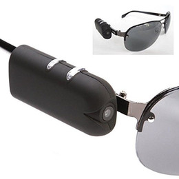 Wholesale Mini Micro Bicycle - Wholesale-Mini Camera HD Sunglasses 1080P Glassess Micro Video Camera Recorder Secret DV Security Bicycle Spy Invisible Fashional Hidden