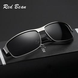 Wholesale Red Frame Safety Glasses - Newest fashionable safety sun glasses sunglasses wholesale Oversized Square Sunglasses Men Polarized eyewear8458