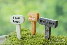 Venda ~ 12 pcs projetos mistos / placa do sinal / jardim de fadas gnome animais / musgo terrário home decor / artesanato / bonsai / casa de boneca / miniaturas / de