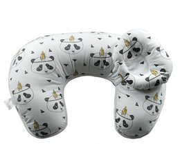 Wholesale Wholesale Nursing Pillows - Wholesale- 2 in 1 Multifunctional U Shaped Maternity Nursing Pillow Baby Breastfeeding Pillow Boppy Pillow Crawling Cojin De Lactancia
