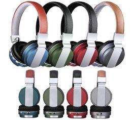 Wholesale Branded Memory - New Arrive BT008 BT-008 Wireless Headset Headphone Earphone Universal Bluetooth Foldable HIFI Mic FM memory Card