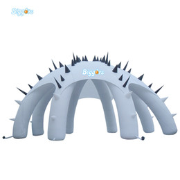 Wholesale nice events - En14960 Certificated Commercial Giant Most Popular Nice Quality White Inflatable Octopus Tent Advertising Tent For Events