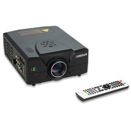 Wholesale Used Projector Tv - Wholesale-Good Chance !!! HD Projectors For Home entertainment Using With 2200 Lumens 2HDMI &2USB &VGA &TV Interface HD Image