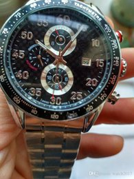 Wholesale Fashion Watche - silver case CALIBRE 16 tag date Promotion automatic mechanical Selling fashion new brand men watch stainless steel wristwatch men's Watche