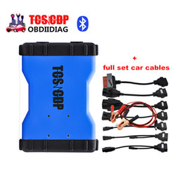 Wholesale Bmw Usb Obd Cable - TCS pro plus OBD2 OBDII OBD II scanner with Bluetooth 2014.R3 R2 optional free activated plus 8 full set car cables