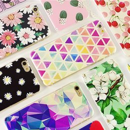 Wholesale Drawing Pattern Case - Cell Phone Cases for iphone 7 7plus phone cases iphone 6 6s originality coloured drawing or pattern protect cases TPU Material (2-54)
