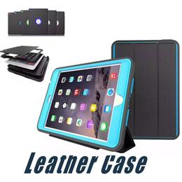 Wholesale mini ipad case red - For iPad Mini 4 3 2 1 Leather Case Protective Cover PU+TPU+PC For iPad 2 3 4 Air2 iPad Pro 9.7 10.5 12.5