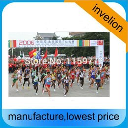 Wholesale Rfid Timing Systems - Wholesale- DOGBONE IMPINJ MONZA chip label rfid uhf tag for running sports timing system