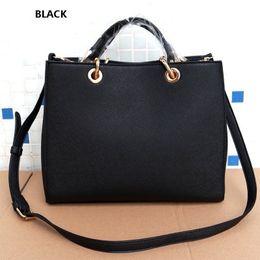 Wholesale Big Glitter Bows - HOT big women bags MICHA KALL famous brand luxury lady PU leather handbags saffiano Designer saddle bags purse shoulder tote Bag Clutch
