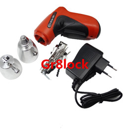 2017 verrouillage électrique HOT Sell KLOM Cordless Electric Lock Pick Gun Auto Pick Guns Lockpicking Serrurerie Outils électrique Lock Pick Gun verrouillage électrique offres