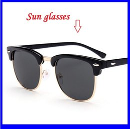 Wholesale Wholesale Framing Nails - Classic Rice Nail Fashion Sunglasses Multicolor Optional AC Lens Frame Is Plastic And Metal Tide Cool Sunglasses Gls207